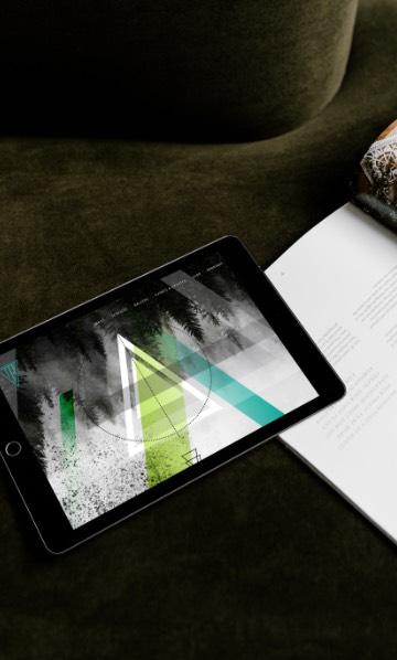 Tablet responsive website